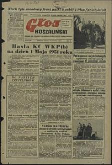 Głos Koszaliński. 1951, kwiecień, nr 115
