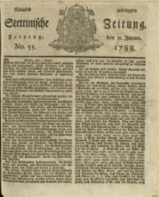 Königlich privilegirte Stettinische Zeitung. 1788 No. 55