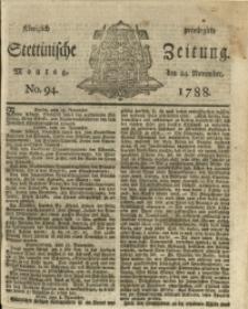 Königlich privilegirte Stettinische Zeitung. No. 94
