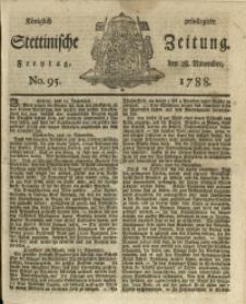 Königlich privilegirte Stettinische Zeitung. 1788 No. 95