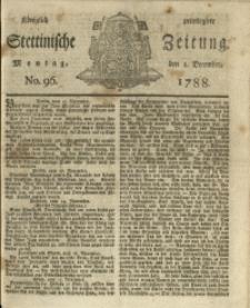 Königlich privilegirte Stettinische Zeitung. 1788 No. 96