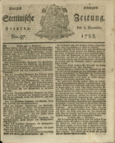 Königlich privilegirte Stettinische Zeitung. 1788 No. 97