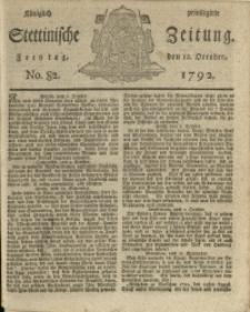 Königlich privilegirte Stettinische Zeitung. 1792 No. 82