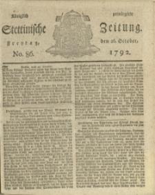 Königlich privilegirte Stettinische Zeitung. 1792 No. 86