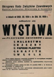[Afisz] Wystawa Prac Plastyków Amatorów