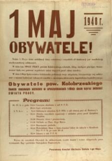 [Afisz] 1 Maj 1948 r.