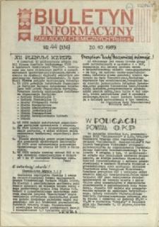 """Biuletyn Informacyjny Zakładów Chemicznych """"Police"""". 1989 nr 44"""
