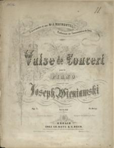 Valse de salon : pour piano : Op. 7