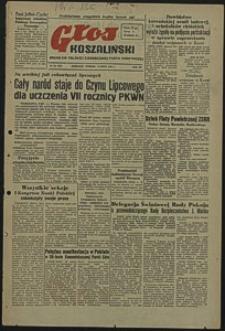 Głos Koszaliński. 1951, lipiec, nr 181