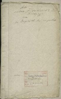 Die Duplicate des Kirchenbuchs des Dorfes Glietzig