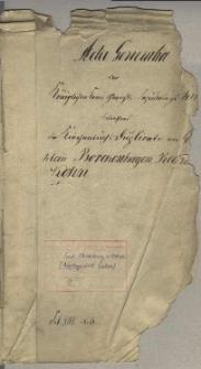 Die Kirchenbuchs Duplicate von Gross und Klein Borckenhagen, Reckow und Kohn