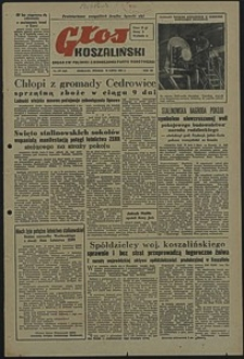 Głos Koszaliński. 1951, lipiec, nr 187