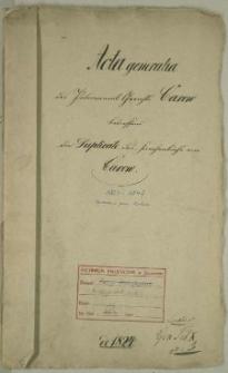 Duplikate des Kirchenbuches von Carow