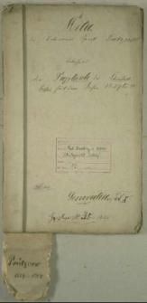 Die Duplicate des Kirchenbuchs von Prütznow seit dem Jahren 1829