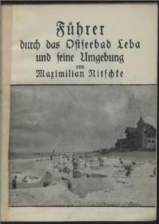 Führer durch das Ostseebad Leba und seine Umgebung