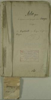 Die Duplicate des Kirchen Buchs von Saagen