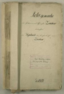 Die Duplicate des Kirchenbuchs von Zachow