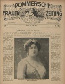 Pommersche Frauen-Zeitung : Stettiner Frauenzeitung : illustriertes Sonntagsblatt. 1912 Nr.19