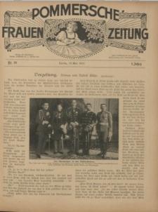 Pommersche Frauen-Zeitung : Stettiner Frauenzeitung : illustriertes Sonntagsblatt. 1912 Nr.20