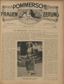 Pommersche Frauen-Zeitung : Stettiner Frauenzeitung : illustriertes Sonntagsblatt. 1912 Nr.25