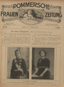 Pommersche Frauen-Zeitung : Stettiner Frauenzeitung : illustriertes Sonntagsblatt. 1912 Nr.37