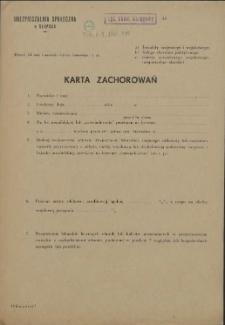 Karta Zachorowań