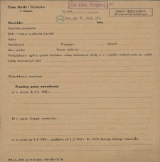 Karta personalna dla pracowników zakładowych