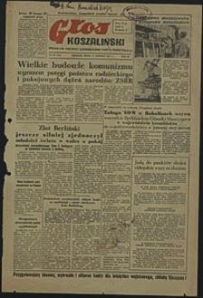Głos Koszaliński. 1951, sierpień, nr 224