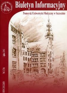 Biuletyn Informacyjny - Pomorski Uniwersytet Medyczny w Szczecinie. Nr 2 (76), Lipiec 2012