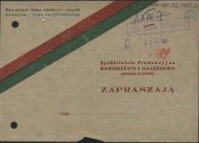 [Inc.:] Uroczyste otwarcie I-go na Pomorzu Szczecińskim Teatru Ludowego [...]