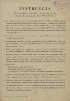 [Afisz] Instrukcja dla korzystających z urządzeń centralnego ogrzewania [...]