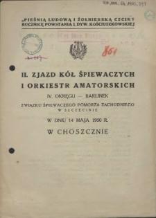 II. Zjazd Kół Śpiewaczych i Orkiestr Amatorskich