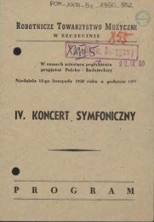 IV koncert symfoniczny