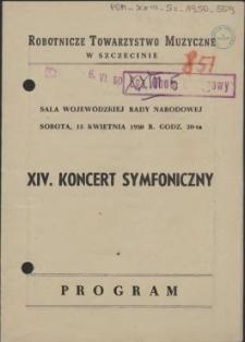 XIV koncert symfoniczny