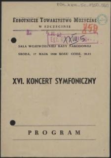 XVI koncert symfoniczny