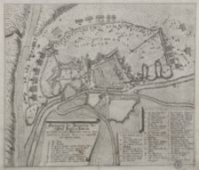 Abzeichnung der Belägerũng der Statt Stettin in Pomeren wie dieselbe von denen Kaŷserlichen vom 29. Sept. bis auf den is Novemb. Anno 1659 angegriffen und bestritten werden