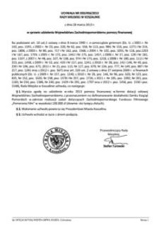 Uchwała Rady Miejskiej w Koszalinie nr XXX/456/2013