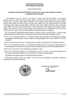 Uchwała Rady Miejskiej w Koszalinie nr XXXI/479/2013