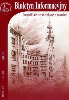 Biuletyn Informacyjny - Pomorski Uniwersytet Medyczny w Szczecinie. Nr 2 (80), Lipiec 2013
