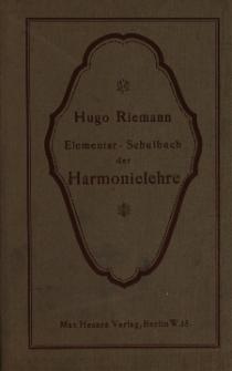 Elementar-Schulbuch der Harmonielehre