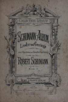 Schumann-Album Lieder und Gesange fur eine Singstimme mit Pianofortebeleitung. Bd. 3
