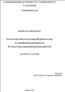 Zastosowanie aktywnej termografii podczerwonej ze wzbudzeniem mikrofalowym do wykrywania niemetalicznych min lądowych