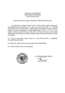 Uchwała Rady Miejskiej w Koszalinie nr XXXV/546/2013