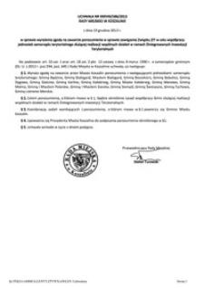 Uchwała Rady Miejskiej w Koszalinie nr XXXVIII/586/2013
