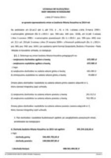 Uchwała Rady Miejskiej w Koszalinie nr XLI/613/2014