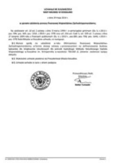Uchwała Rady Miejskiej w Koszalinie nr XLIII/649/2014