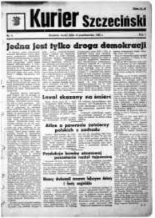 Kurier Szczeciński. R.1, 1945 nr 4