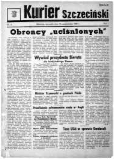 Kurier Szczeciński. R.1, 1945 nr 11