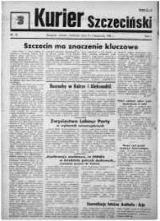 Kurier Szczeciński. R.1, 1945 nr 25