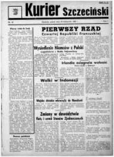 Kurier Szczeciński. R.1, 1945 nr 42